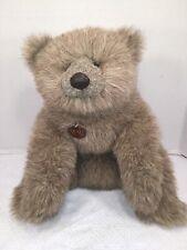 "EUC-HTF-RARE-VINTAGE-18"" 1985 Gund Collector's Classic Baron Bear Plush"