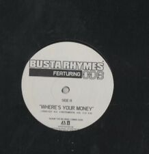 Busta Rhymes Feat. Old Dirty Bastard Where's Your Money Vinyl LP