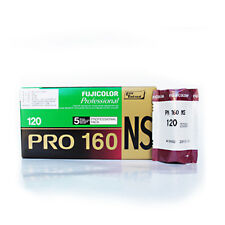 5 Rolls Fuji Fujifilm Pro 160NS 120 Color Print Professional Film Fresh 2019