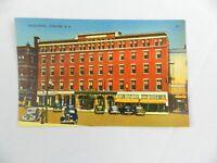 Vintage Postcard 1940's Eagle Hotel Concord N.H. Color 20 Sullivan News