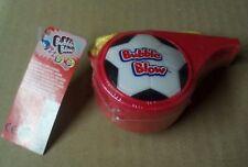 Bubble Blow Trillerpfeife für Sammler 9.5cm rot
