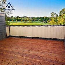 Bestselling Privacy Screen For Backyard Deck Patio - Banha Beige