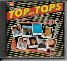 CD COMPIL 15 TITRES--TOP DES TOPS N°4--S.EXPRESS/DAHO/GRANT/DAYNE/U2/SHONA--1988