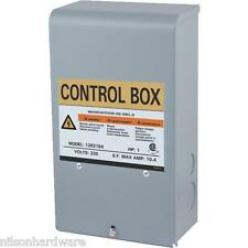 Star Water Sys Pump Motor Control Box 3 Wire Submersible Well 1 HP 230V 126319