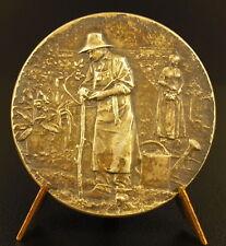 Médaille argent Bar le Duc Horticulture maraichage Jardin Gardener silver medal