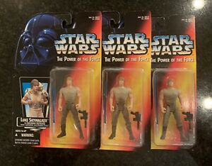 STAR WARS VARIANT Luke Skywalker Dagobah MEDIUM SABER, Long Tray, EXTREMELY RARE