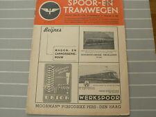 1947-18 SPOOR EN TRAMWEGEN NCS LOCOMOTIEF 71-74,75-78,3600,GEVALLENEN OORLOG NS