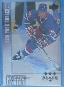 Wayne Gretzky 1996-97 Black Diamond Triple Diamond SSP #180 New York Rangers