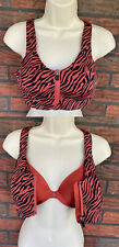 Incredible Knockout Ultra Max Victoria Sport Front-Close Sport Bra Animal 34C