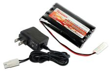 Combo: Tenergy 9.6V 2000mAh Nimh Battery Pack RC Car + 12v Simple Charger