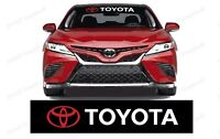"""TOYOTA WINDSHIELD BANNER For all TOYOTA Vehicles Sizes come in 30"""" 35"""" 40"""""""