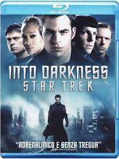 Blu Ray • Into Darkness STAR TREK CUMBERBATCH QUINTO CHRIS PINE  ITALIANO