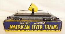 AMERICAN FLYER #634 FLOODLIGHT CAR WITH DIE-CAST CHASSIS-EX. IN ORIGINAL BOX!
