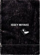 Issey Miyake Autumn Winter 2009 Men's Fashion Catalog Lookbook Book