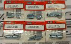 """DUBRO 613 1-1/4"""" x 1/8"""" Dia. E/Z ADJUST AXLE (2 Pcs) lot of 6 packages"""