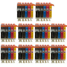 50 Ink Cartridges for Canon IP7250 IP8750 IX6850 MG5450 MG5550 MG5650 T