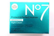 No7 Protect & Perfect Intense Advanced Night Cream - 50ml - Hypo-Allergenic