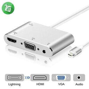 Onten 7585S Lightning zu HDMI / VGA Digital AV Adapter