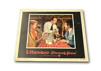 """Liberace Sincerely Yours"" Original 11x14 Authentic Lobby Card Poster 1955"