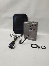 Sony Walkman WM-DD33 inkl. Tasche + Sony kopfhörer MDR-W10 TURBO.NEW CENTER GEAR