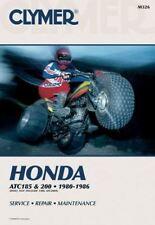 Honda ATC185 & 200, 1980 to 1986  Workshop Manual