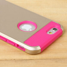 """Ultra Slim Hybrid Hard PC Soft Rubber Shockproof Case Cover For iPhone 6s 4.7"""""""