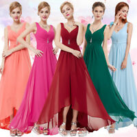 Ever-Pretty Long V-neck Bridesmaid Dress Evening Party Gown Prom Dresses 09983
