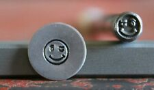 SUPPLY GUY 5mm Winking Smiley Face Metal Punch Design Stamp SGA-1, Made in USA