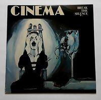 "CINEMA - ""BREAK THE SILENCE"" PRIVATE METAL PRESS! VERY RARE!!1986"