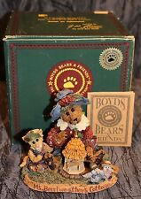 Boyds Bears & Friends Private Issue Ms. Berriweather's Cottage Collector Edition
