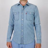Levi's Modern Fit hellblau herrenhemd Größe S