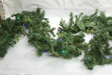 Bethlehem Lights 9' Mixed Greens Prelit Holiday Garland MULTI RTL$49
