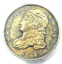 1832 Capped Bust  Dime 10C Coin - Certified ICG MS63 (BU UNC) - $1,400 Value!