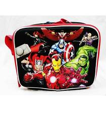 NWT Avengers Insulated Lunch Box Bag Newest Style Ironman, Hulk, Thor, America A