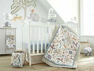 Levtex Baby Jungalo 5 Piece Nursery Crib Bedding Set NEW