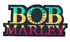 Bob Marley Embroidered Iron on Patch High Quality.
