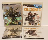 Darksiders 1 And killzone 3 Sony PlayStation 3 Lot Bundle (2 Games)