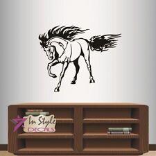 Wall Vinyl Decal Beautiful Horse Stallion Mustang Animal Art Wall Sticker 1959