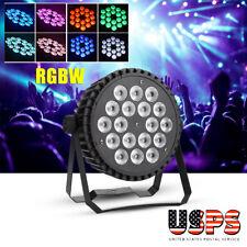200W RGBW 18 LED Par Stage Lighting DMX Rainbow Effect Bar DJ Party Light