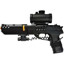 DOUBLE EAGLE KS-91 DELTA FORCE AIRSOFT SPRING PISTOL GUN w/ BB LASER SIGHT SCOPE