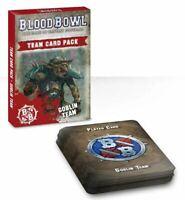 Blood Cuenco Goblin Team Card Pack (Inglés) Games Workshop Goblins Tarjetas