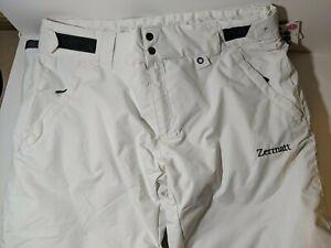 Zermatt Woman's XL Snow Pant White