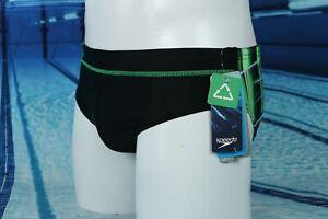 Speedo - Competition Swim Brief - Laser Sticks  Design - MSRP $44.00