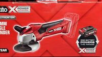 NEW CORDLESS 18V OZITO 115MM ANGLE GRINDER SKIN ONLY TOOL CUT GRIND DIY TILES
