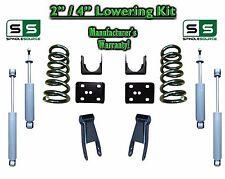"""2002 - 2008 Dodge Ram 1500 V6 2"""" / 4"""" Lowering Drop Kit 2WD Coils Flip + SHOCKS"""