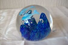 DOLPHIN'S SWIMMING PAPERWEIGHT