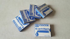 Cartridge ink cartouche encre WILSON stylo plume penna pen nib 鋼筆 # Bleu