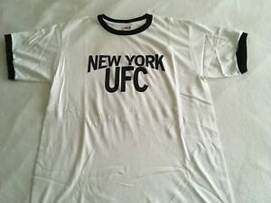 UFC NYC MSG T SHIRT RINGER NEW YORK ULTIMATE FIGHTING MMA LARGE CONOR MCGREGOR