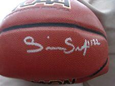 Silvio DeSousa Autographed Basketball ( KU Jayhawks )
