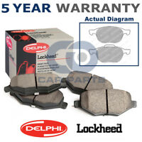 Set of Front Delphi Lockheed Brake Pads For Ford Mazda Volvo LP1869